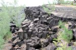 26_Basalt_lava_(Pointe_de_la_Table)